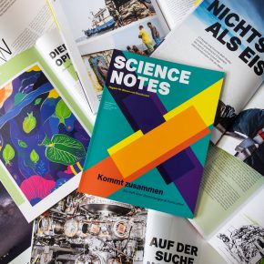 Science Notes Magazin: Anstiftung zu neuen Wegen