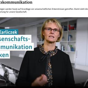 WPK-Stellungnahme zum Grundsatzpapier Wissenschaftskommunikation des BMBF